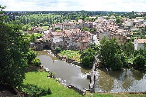 Parthenay, France