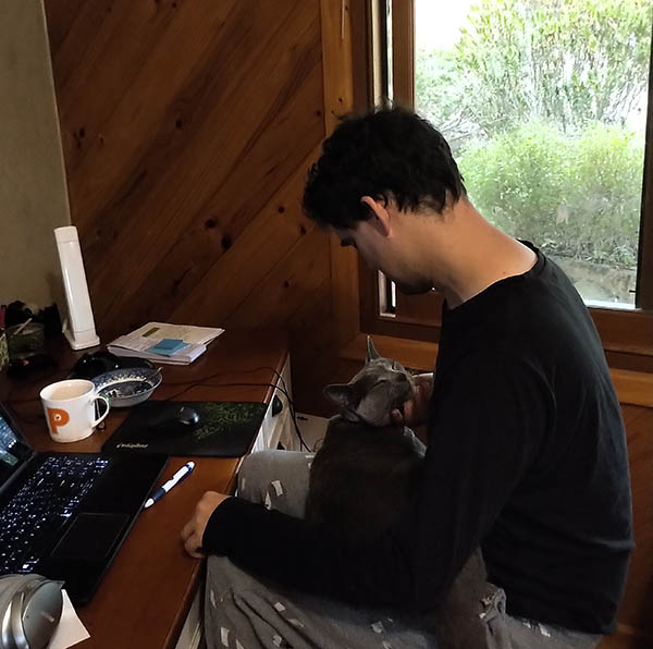 Mika colonising Tony
