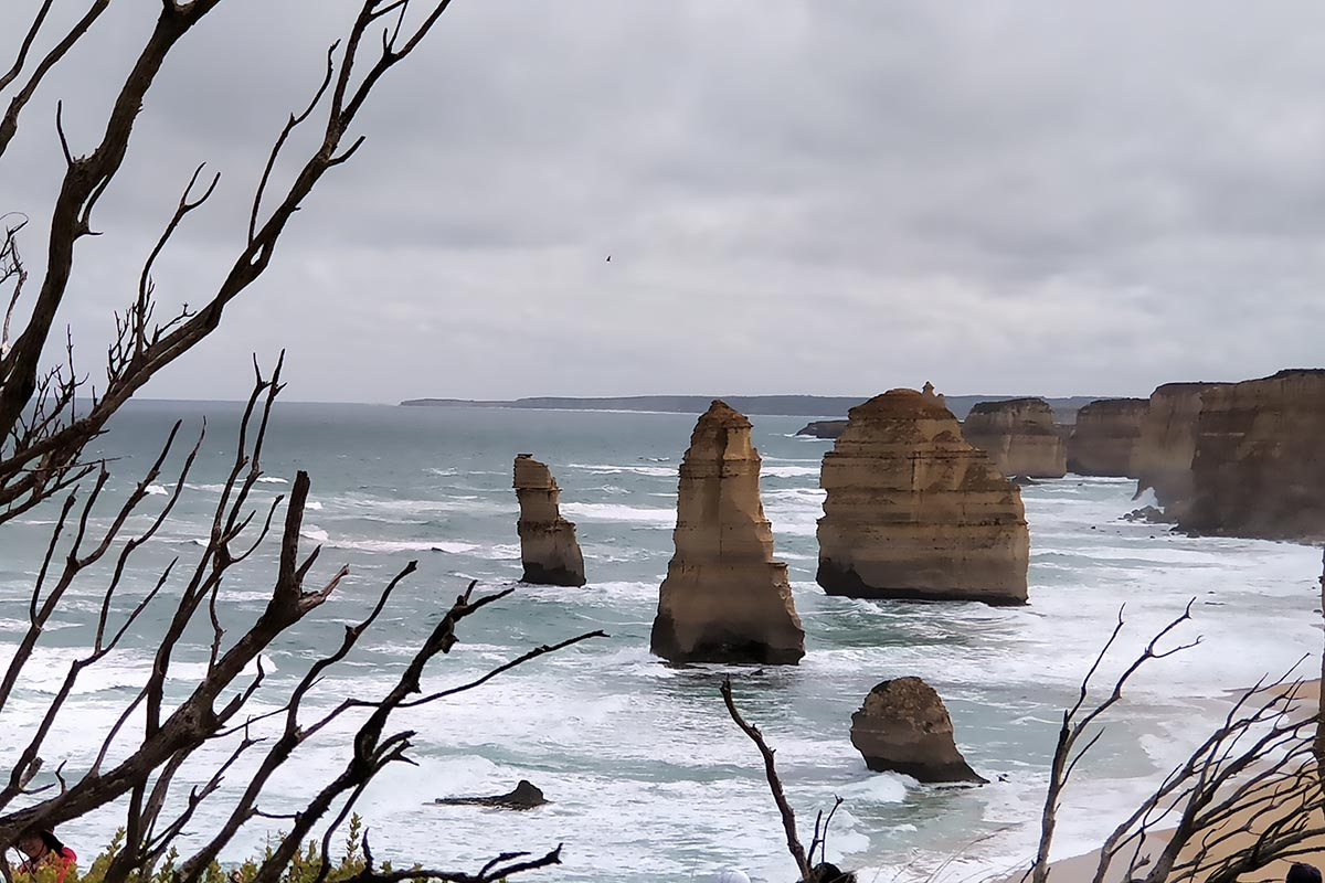 The Twelve Apostles On A Windy Day!