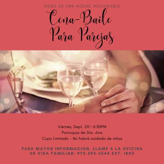 Copy of Cena Baile Para Parejas