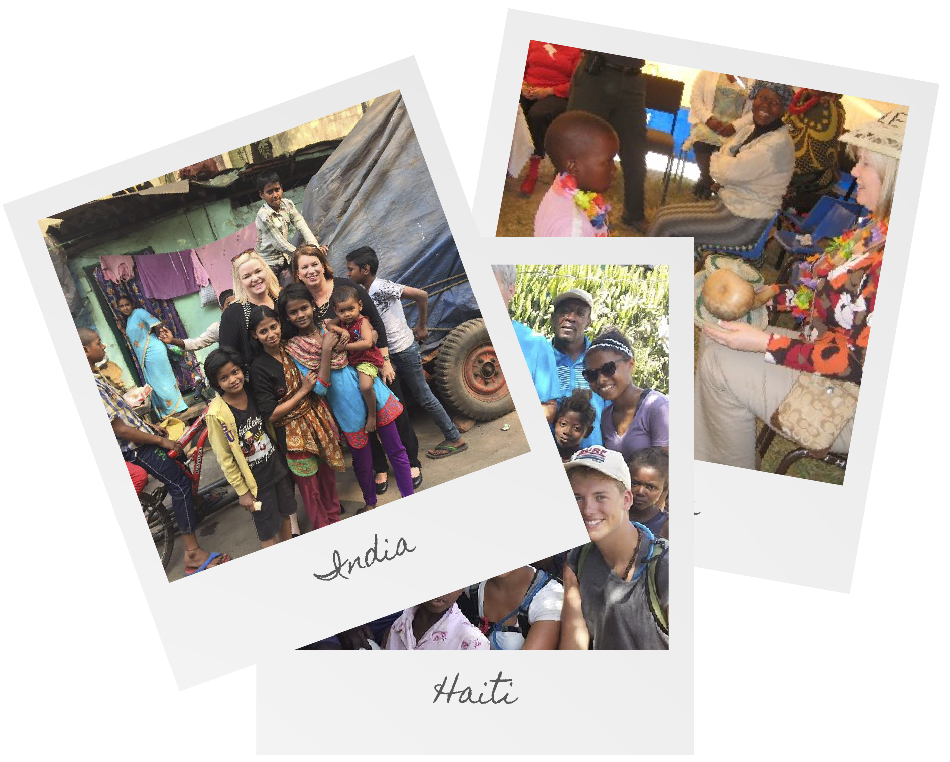 Your generosity helps reach people in India, Haiti, Mexico and around the world!