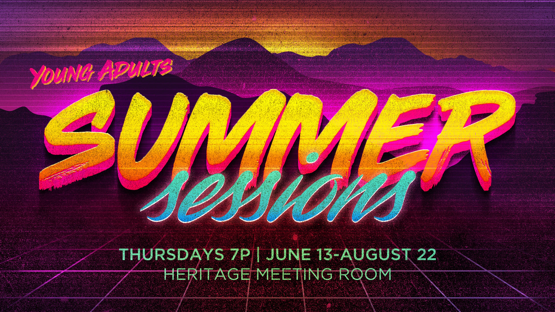 Life Center Central | Young Adults Summer Sessions