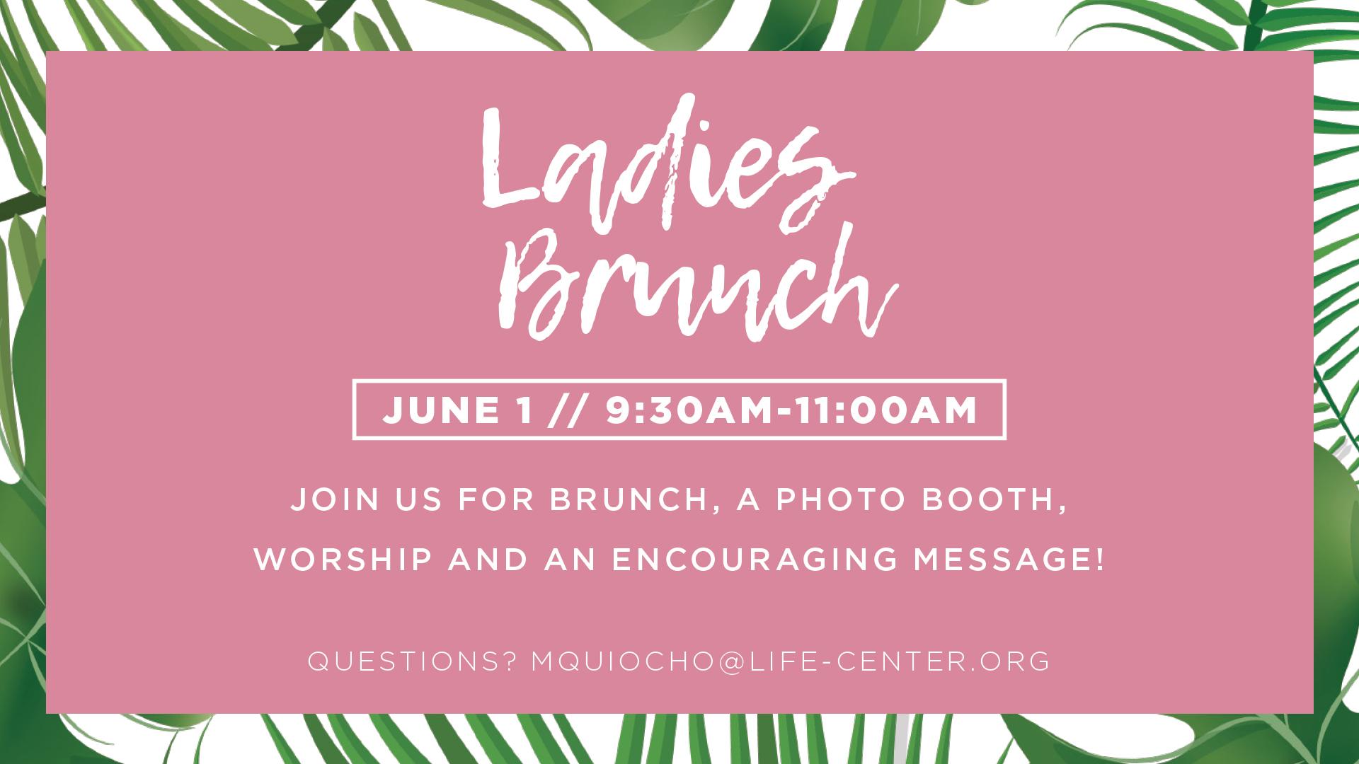 Life Center Rainier | Ladies Brunch