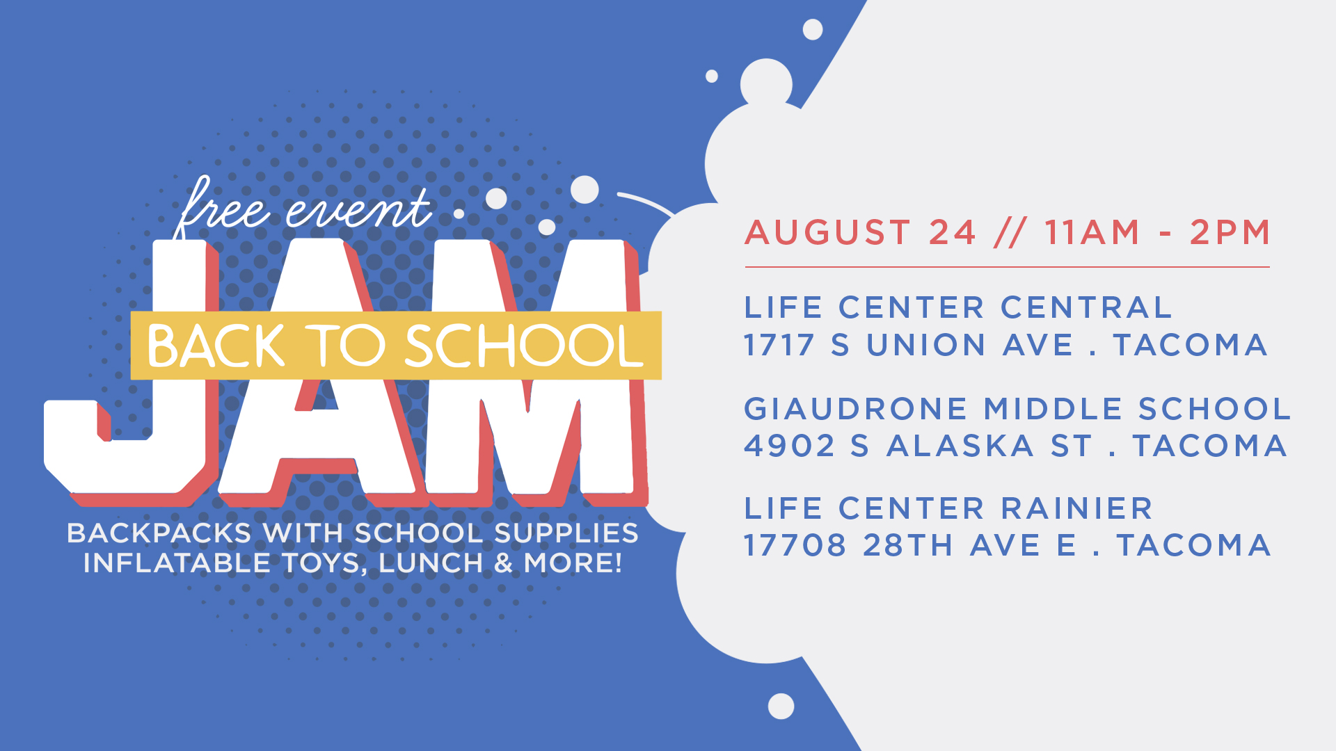 Life Center Central | Back to School Jam