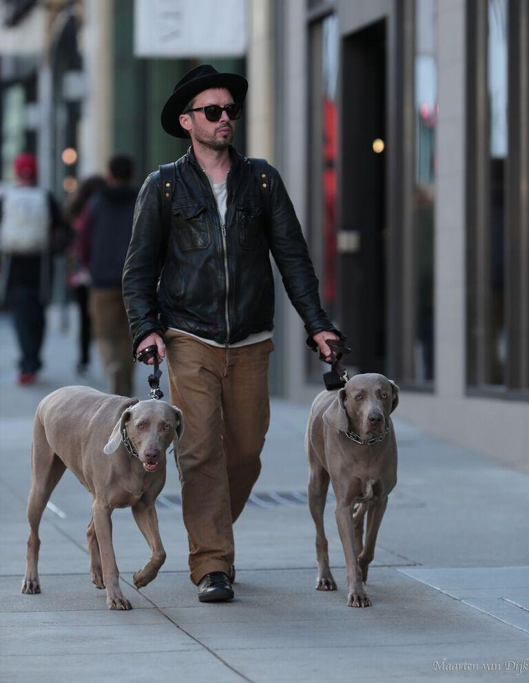Me and the boys strollin through San Francisco.