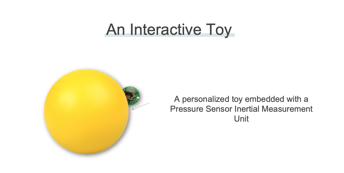 Jumpo - Jumpo is an interactive toy that gamifies the physical therapy experience for children with Cerebral Palsy while providing the therapist and the parent with relevant information about the child's progress. Thus, Jumpo will motivate the child to consistently and persistently perform the exercises provided by the therapist to ensure that the child benefits. In addition, Jumpo aims to make physical therapy more accessible and convenient as it could be done remotely. For more information on Jumpo, click here.
