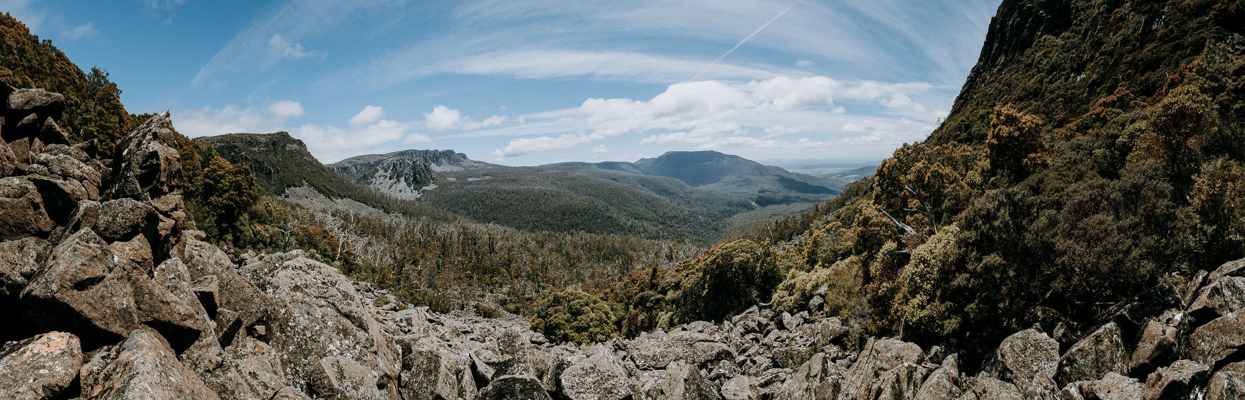 248/365 | What a place for a panorama! From Dixons Track.