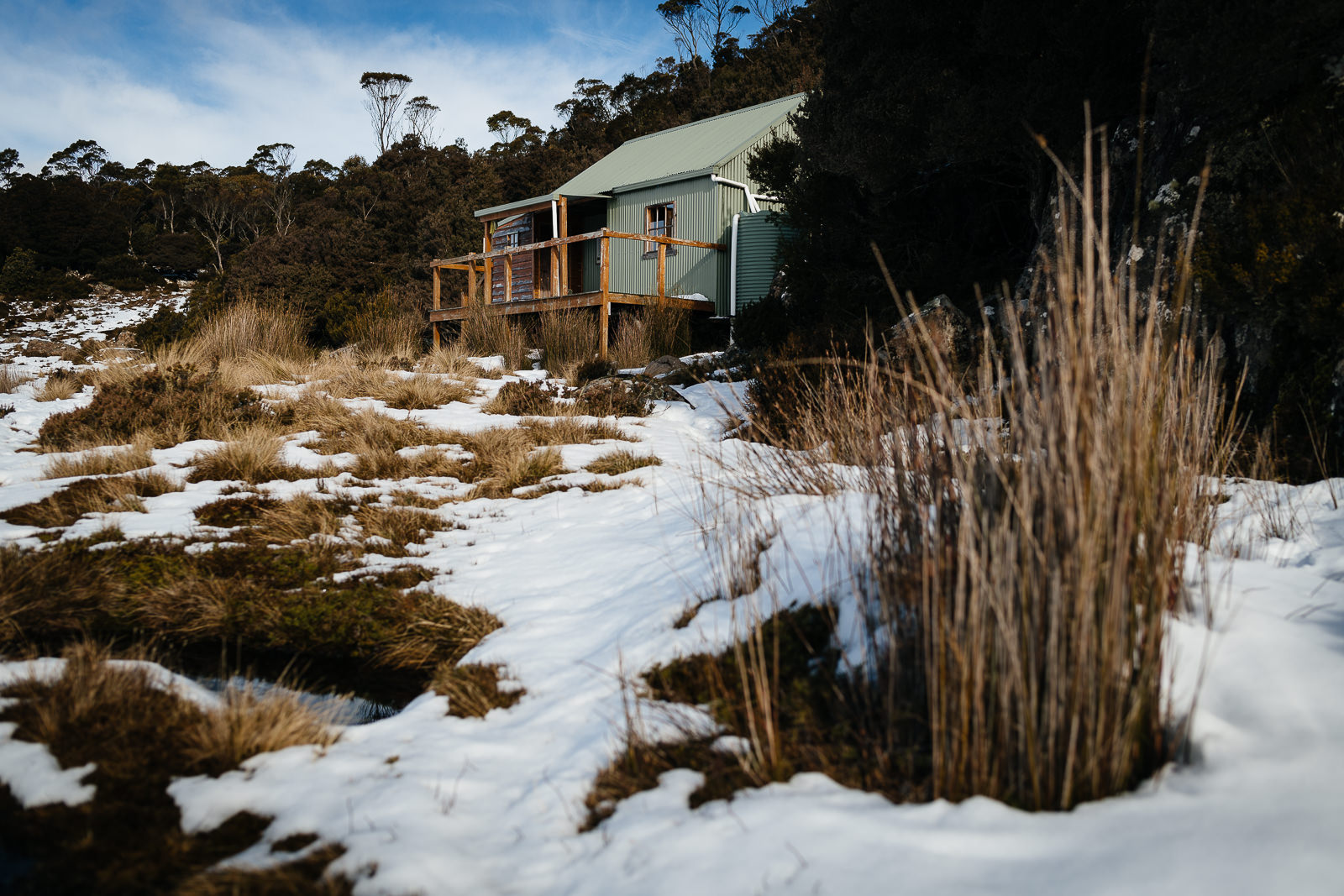 101/365 | Lady Lake Hut on the central plateau