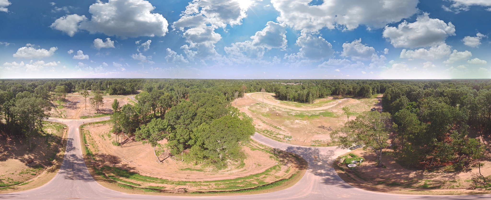 Top arial photo, background panorama, & above panorama taken by  Mark Fink  - masterMWF@gmail.com