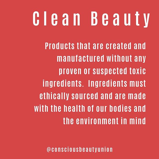 What is Clean Beauty ?🌱⠀ •⠀ Products that are created and manufactured without any proven or suspected toxic ingredients.  Ingredients must ethically sourced and are made with the health of our bodies and the environment in mind⠀ •⠀ This is our definition of Clean Beauty.⠀ What's yours? ⠀ #cleanbeauty #cleanbeaityblogger #cleanbeautyrevolution
