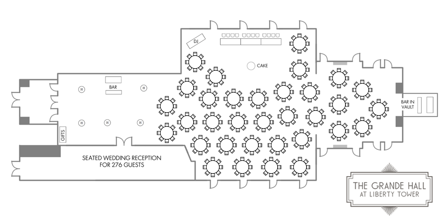 the grande hall floor plan