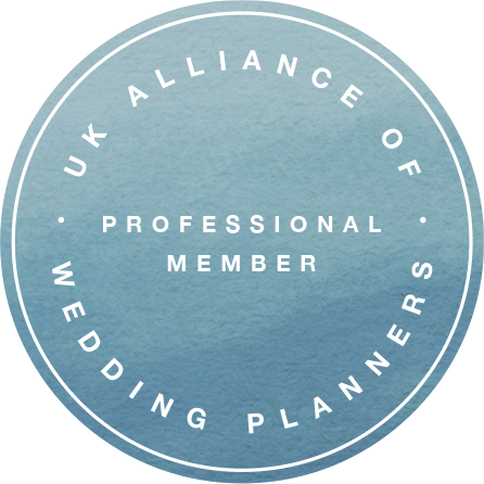 UK Alliance of Wedding Planners | Professional Member | Julie Nicholls Weddings