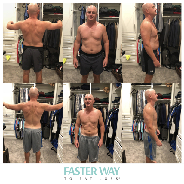 """""""After seven weeks I've noticed a real difference in how my clothes fit and also feel much better about how I look in front the of mirror.*""""    - Luke"""