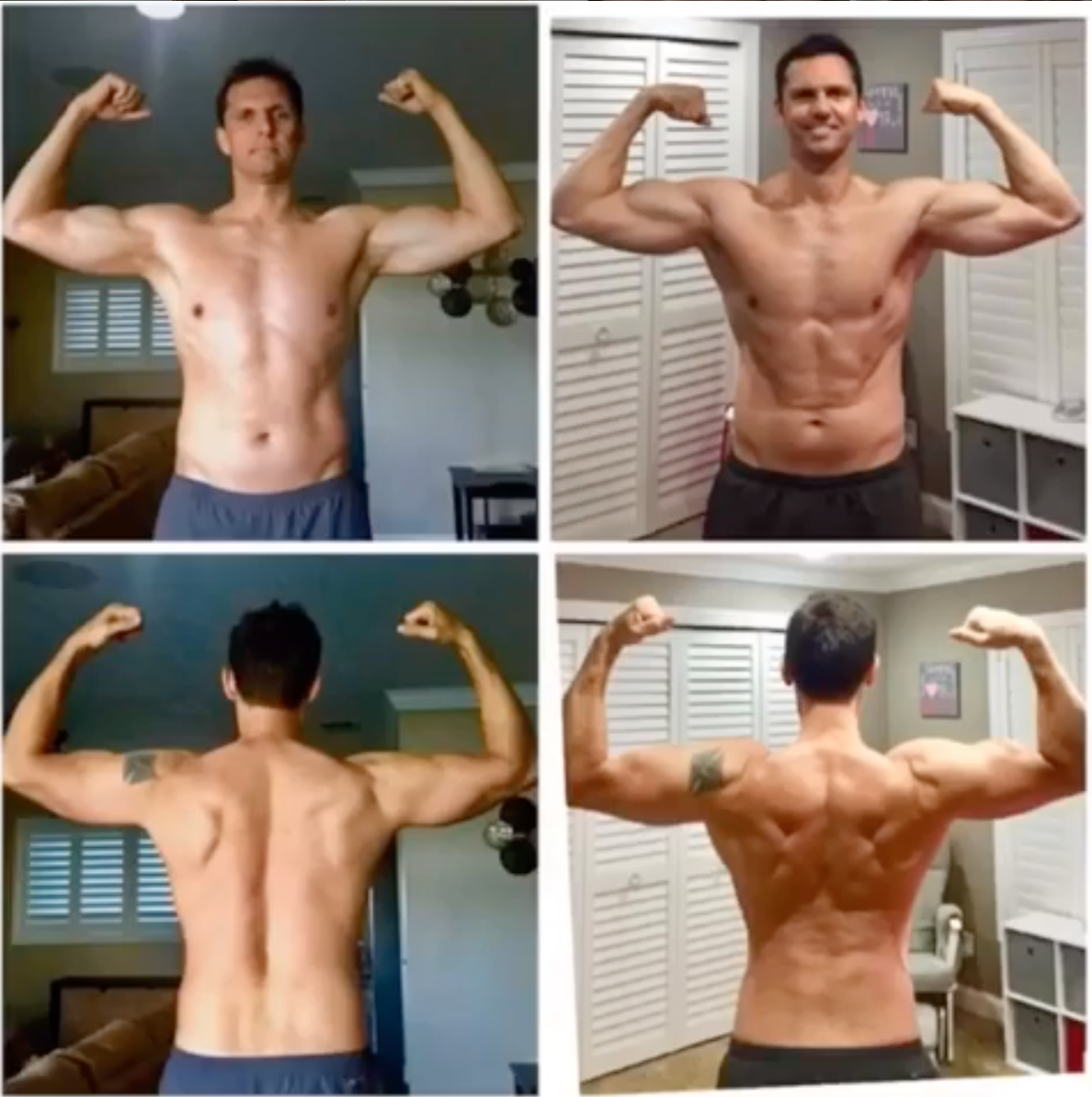 """""""This has been the best health and fitness investment I have done in the last 20 years! Increased lean muscle, more energy, better sleep, and focus.""""  -Eric Springer"""