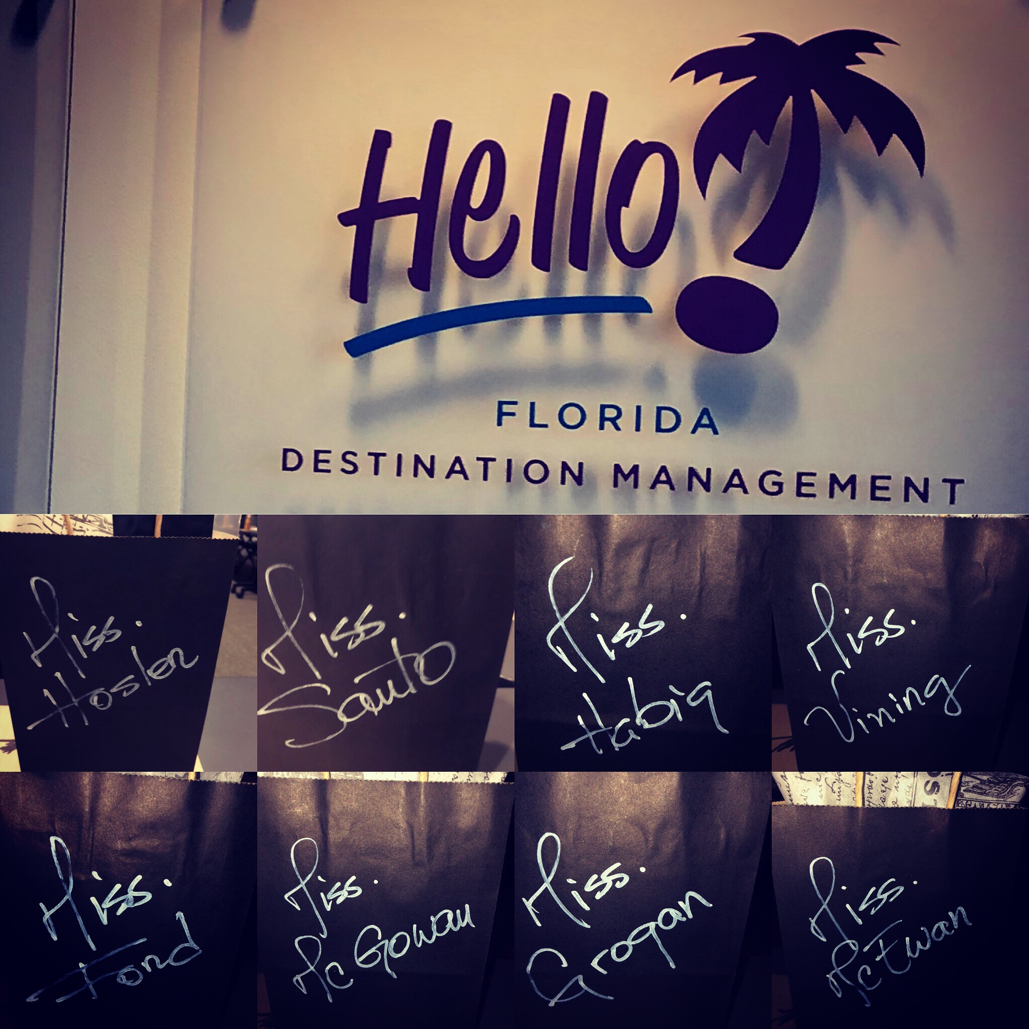 Introduction Time! - Good time and success meeting, where was created a huge relationship with your Hello! Florida destination Management team.