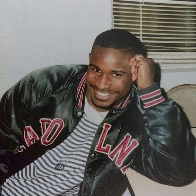 #tbt This picture was taken in the fall of 1990. Winston-Salem State University. Go Rams.