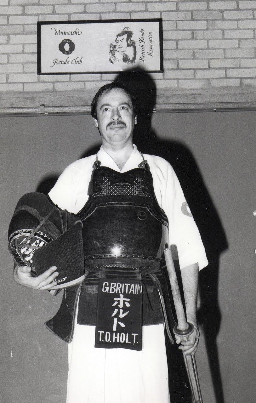 Terry Holt Sensei circa 1970