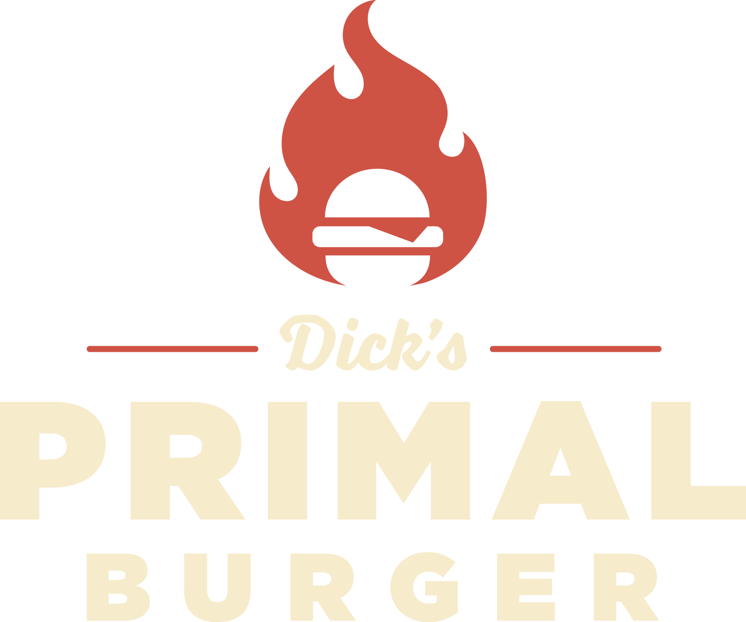 Dick's Primal Burger Logo | Portland Oregon