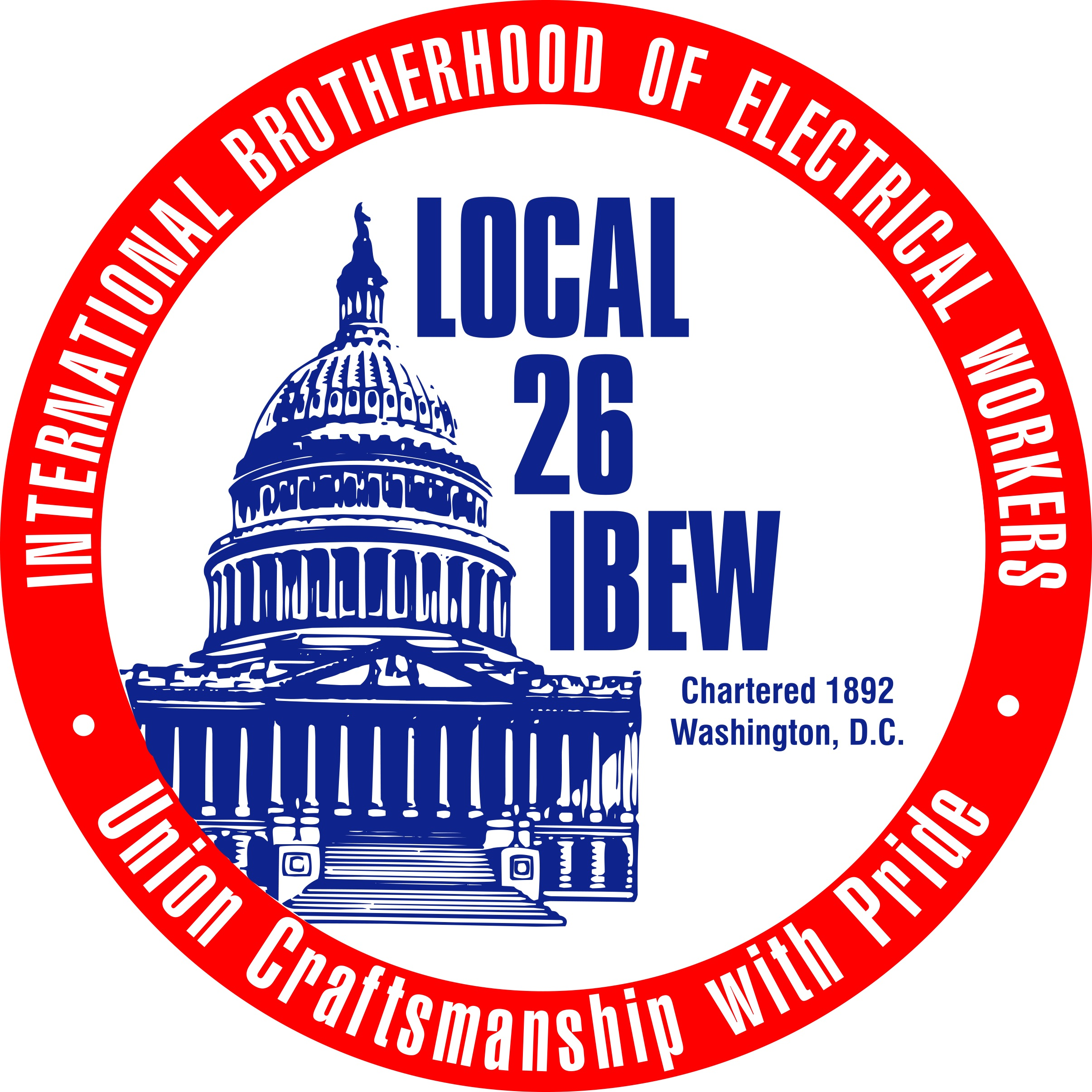 """IBEW Local 26's 10,000 electricians wholeheartedly support Rodney Lusk for Lee District Supervisor. Rodney Lusk is a dynamic and innovative leader who recognizes that IBEW Local 26's self-funded apprenticeship programs provide a path to the middle class for Fairfax residents. Rodney promotes hiring and training local residents to perform the highly skilled and dangerous work our members perform."""