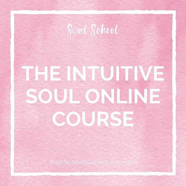 Course Launching Soon! ✨ Awaken your Innate Intuitive Abilities so you can Thrive in all areas of Life! 🕊 #SoulSchool