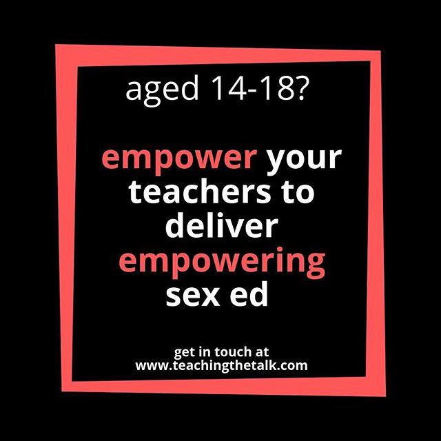 A call for volunteers aged 14-18! Let's start the school year right by empowering our teachers to deliver the best sex ed they can! 📧 teachingthetalk@gmail.com