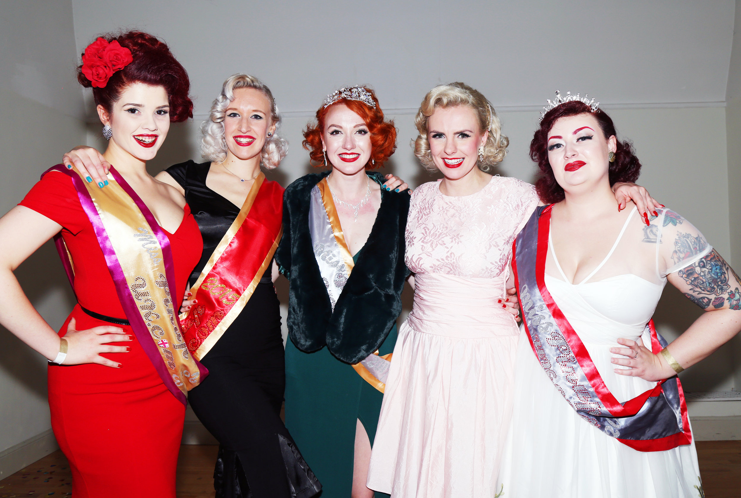 The Miss Pinup UK Finals 2019 - at Shake & Stir! - by Stir! Events & All About Pinup