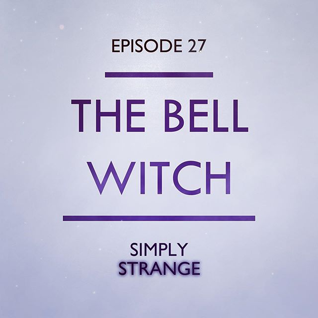 I'm a day late posting this, but... NEW EPISODE OUT NOW! Link in bio 🥳  In 1804, the Bell family moved from North Carolina to Tennessee in search of fertile land with a little extra elbow room for their growing family. And they found it. But, they also found something else... a mysterious force that would torment them for many years to come.  #bellwitch #thebellwitch #simplystrangepodcast #simplystrange #podcast #lore #folklore #with #haunting #poltergeist #spooky #spoopy