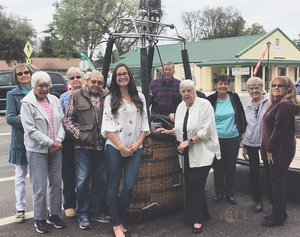 Thank you Templeton Senior Club for having us out today!  Our chief pilot Phoebe gave a presentation on the history of ballooning and the science behind the magic ✨Thank you for the great questions and enthusiasm you had for this program. We can't wait to come back! 😊  #templetonseniorclub #hotairballoon #presentation #slo #balloonsoverpaso #pasorobles #upupandaway #community #science #centralcoast #winecountry