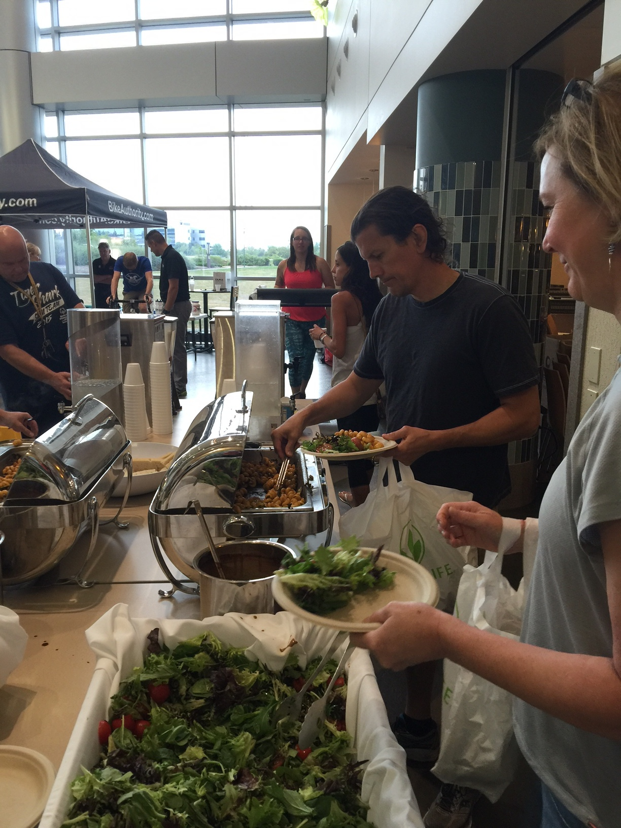 Complimentary Pasta Feed at UH Ahuja Expo & Packet Pick-up