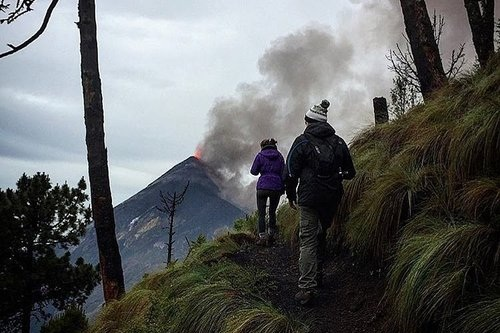Hiking to Guatemala's Most Active Volcano -
