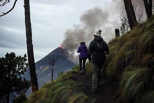 Hiking to Guatemala's Most Active Volcano - Adventure Guide| Volcan Acatenango