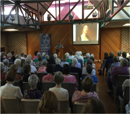 Speaking in Sydney