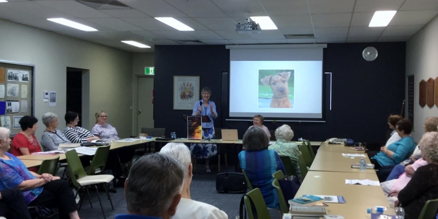 Presenting in Melbourne