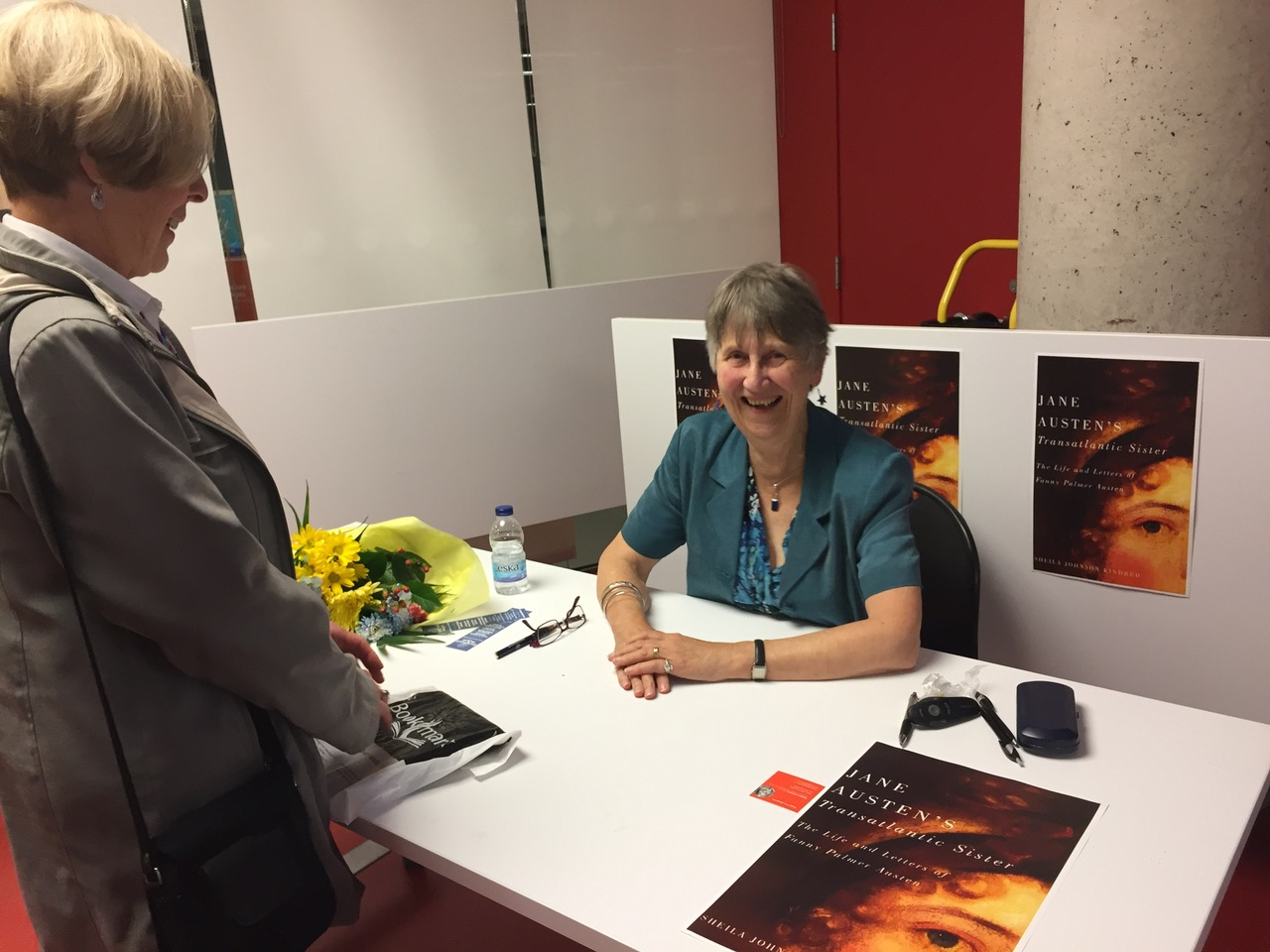 Signing at Halifax Book Launch