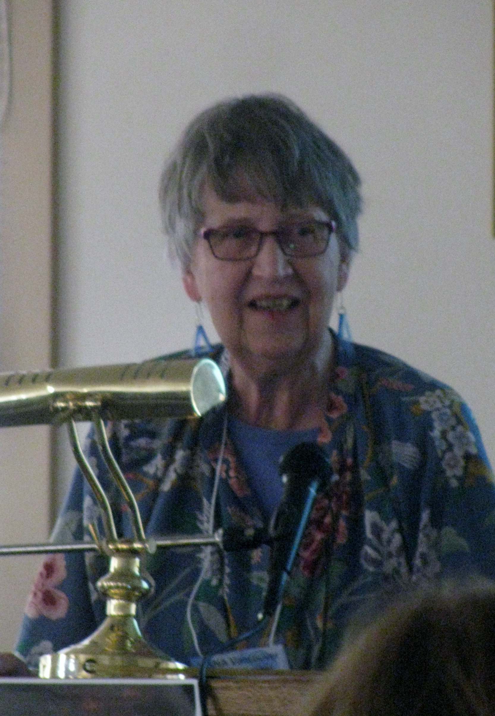Sheila speaking in Vancouver, 2 March 2019