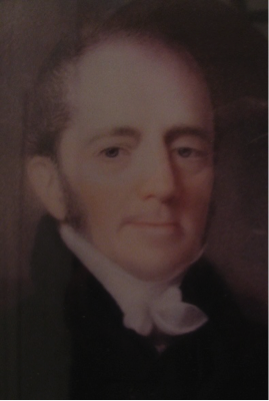 Fig.1: George Moore, Rector of St George's Church, Wrotham, Kent