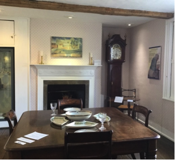 Fig. 2: Dining Room at the Cottage