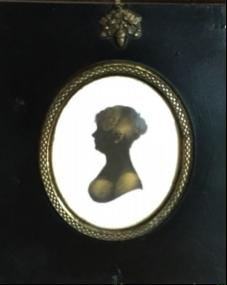 Fig. 7: Fanny Palmer Austen's Silhouette.