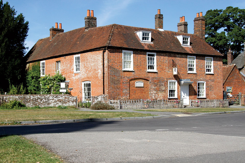 Fig. 1: View of Chawton Cottage today