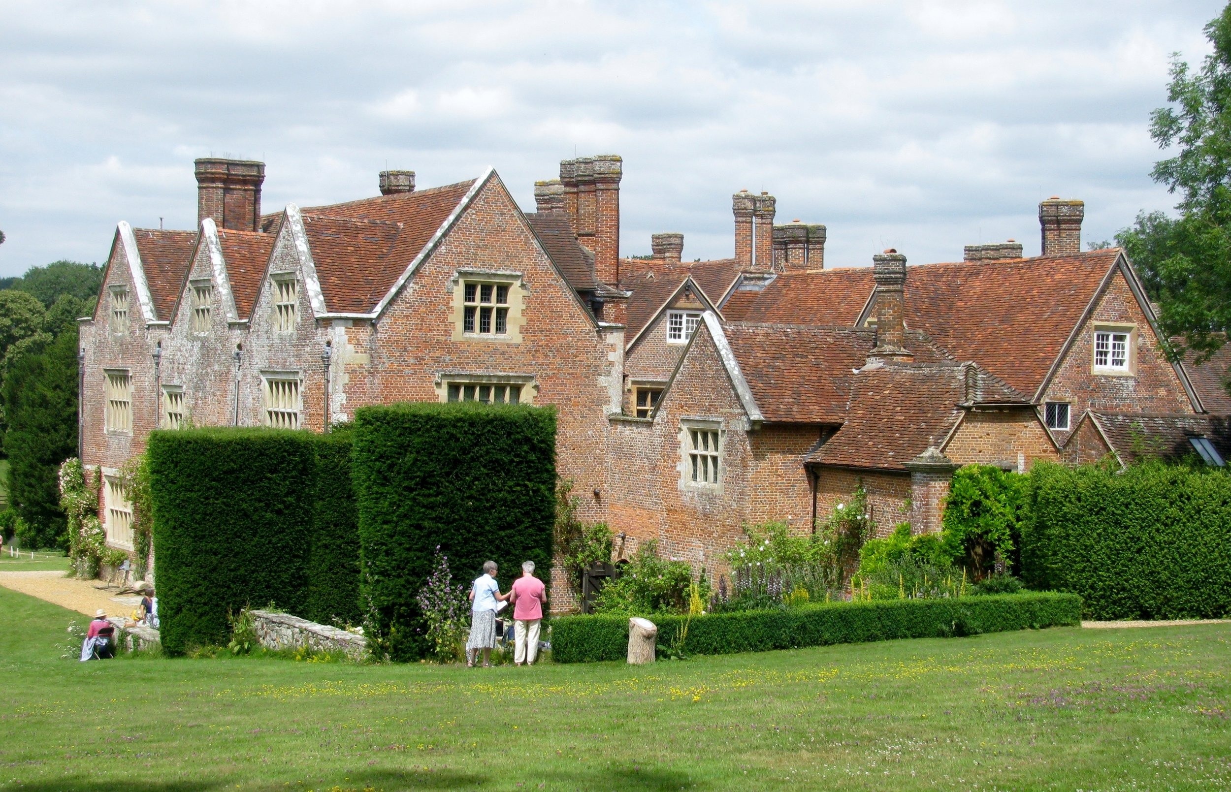 Fig. 4: Chawton House, side view.