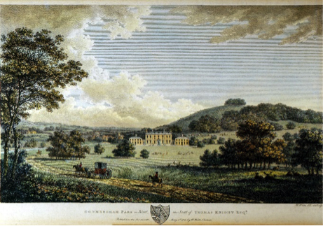 Fig. 1: Godmersham Park in 1785