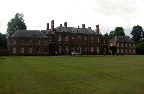 Fig.2: Godmersham Park today