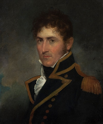 Fig.8: Captain Charles Austen by Robert Field.