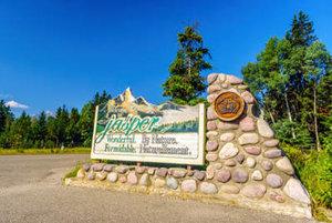 Alberta Jasper Sign