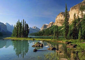 Alberta Jasper Lake