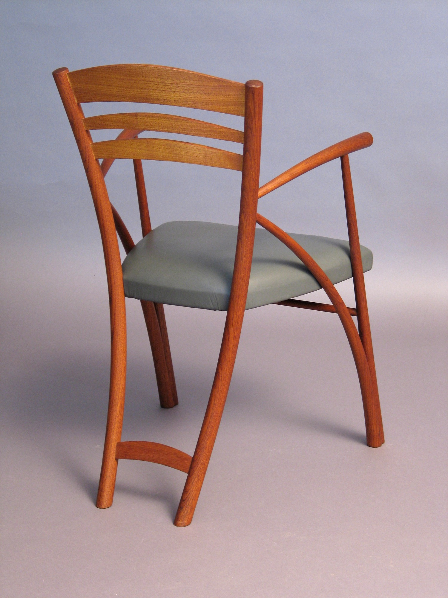Series chair- chestnut, upholstery