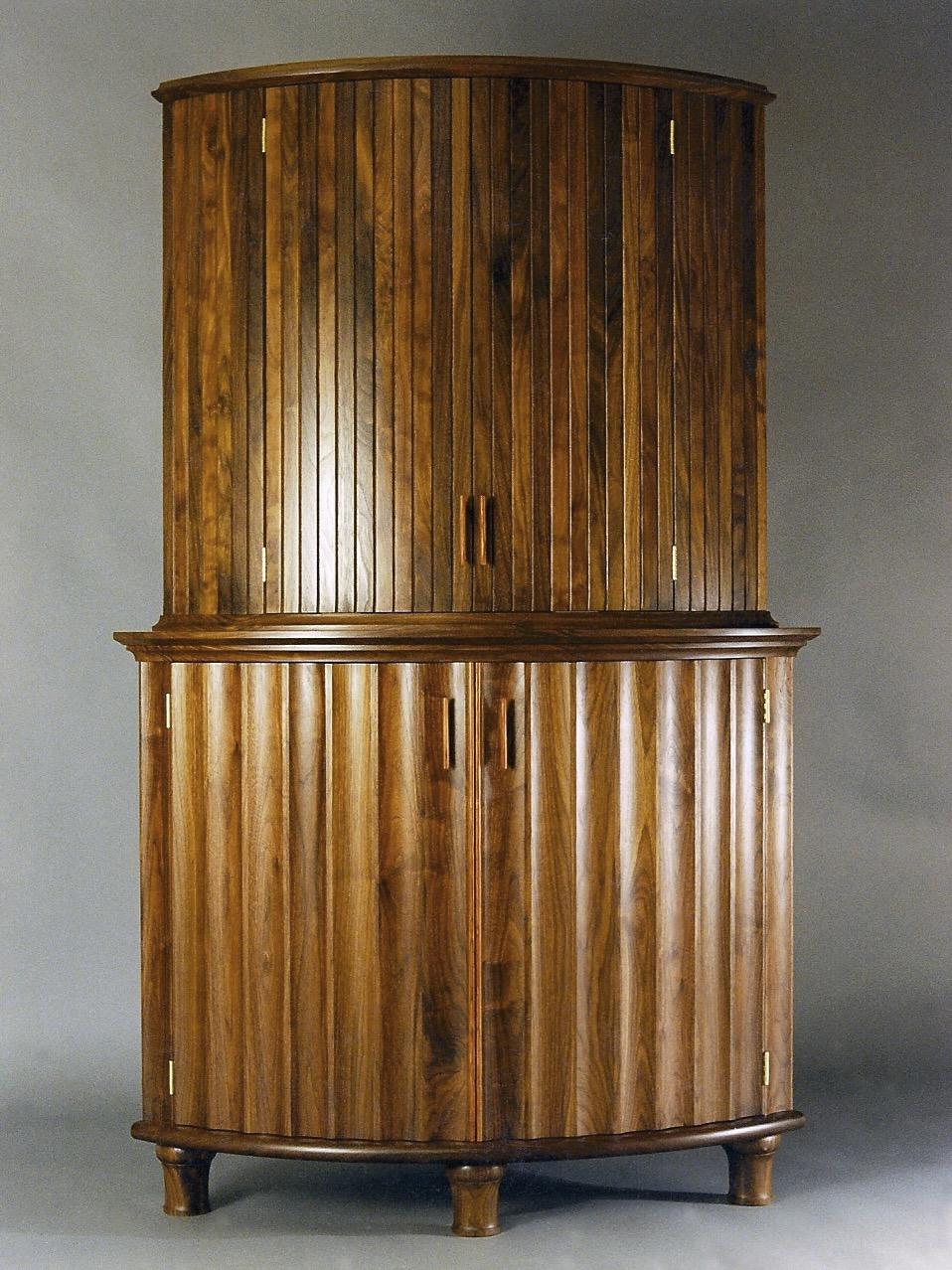 Kowitz - walnut, redwood burl interior