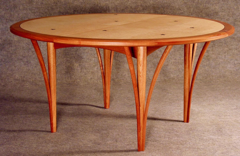Jennings - mahogany, birdseye maple, inlaid rosewood stars, inlaid ebony stringing
