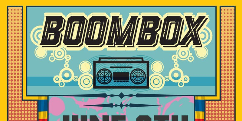 boombox at the midway - 9:00 PM - 3:00 AMPromo code with Tulip ticket