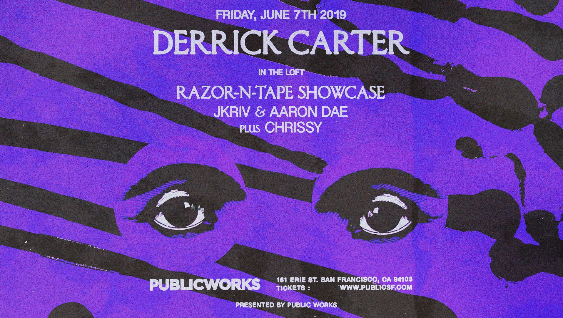 derrick carter + razor-n-tape showcase - 9:30 PM